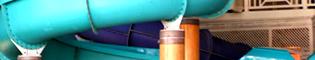 Junior Body Slides: Los toboganes más fuertes para los niños. ¡Al agua! En el área cubierta de El Gran Caribe, en PortAventura Aquatic Park.