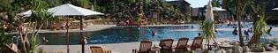 Piscinas: Conoce las piscinas del Hotel Gold River.