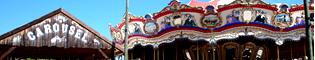 Carrousel: Los caballitos del Far West que trotan al ritmo de la música americana. Un clásico tiovivo para todas las edades en PortAventura.