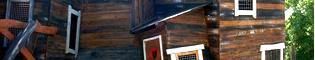 Laberinto Blacksmith: Los niños podrán explorar esta casa llena de pasillos secretos.