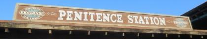 Penitece Station: El Tren de Vapor que te llevará desde la Penitence Station hasta la Estació del Nord de Mediterrània o hasta SésamoAventura Station recorriendo todo el Parque.