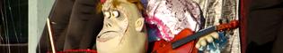 The Big Small Terror Show: Marionetas terroríficas te mostraran sus habilidades.