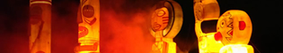 Fiestaventura: El gran espectáculo nocturno de PortAventura donde las noches se llenan de luz, el aire se transforma en música, y el agua se vuelve fuego. Un gran fin del día en el lago de la Mediterrània, con fuegos artificiales, fuego, música, efectos especiales, motos de agua y figuras gigantes.