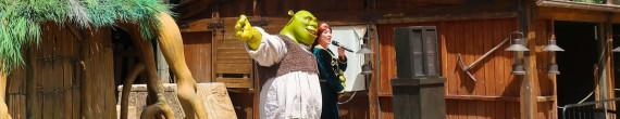Meet Shrek & Fiona: Ven a conocer a la princesa Fiona y el ogro Shrek en la Plaza del Yucatán de México de PortAventura Park.