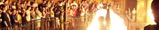 Templo del Fuego: Atrévete a desafiar al Dios del Fuego para conseguir el tesoro del Templo del Fuego de Port Aventura.