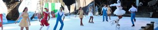Angels on Ice: Un ángel protagoniza este espectáculo sobre hielo, una exhibición de patinaje artístico y acrobático que no puedes perderte.