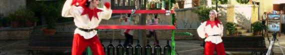 Animación de Calle de Navidad Retirada: Personajes navideños que ya no salen por las calles de PortAventura.