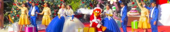 La Navidad de Woody: Woody Woodpecker es el protagonista de este espectáculo musical navideño de PortAventura Park.