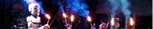 Noches de Fuego en Tahití: Espectáculo nocturno de PortAventura de bailes y acrobacias tradicionales de Tahití y la Polynesia donde el fuego es el protagonista. La mejor forma de disfrutar las Noches de Fuego en Tahití.