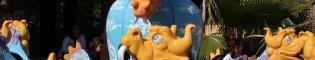 Kiddie Dragons: En SésamoAventura de PortAventura Park, los más pequeños de la casa podrán montar en un dragón bebé.
