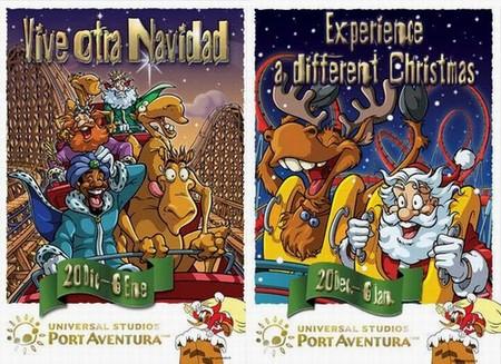 Campaña publicitaria de la Fiesta de Navidad