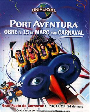 Mañana abre Port Aventura
