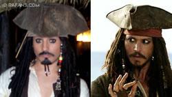 Jack Sparrow en PortAventura
