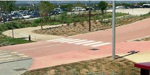Nuevo vial hacia el Hotel PortAventura