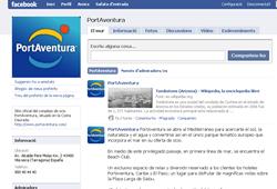 PortAventura en Facebook