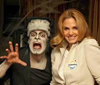 Genoveva Casanova presenta el Halloween 2009