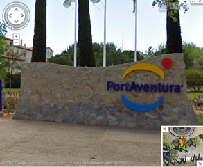 PortAventura disponible en Google Street View