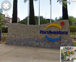 PortAventura disponible en Google Street View