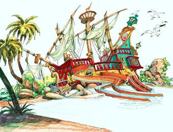 PortAventura presenta nuevos toboganes para Costa Caribe