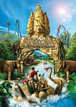 La nueva atracción 2014 de PortAventura se llamará 'Angkor'