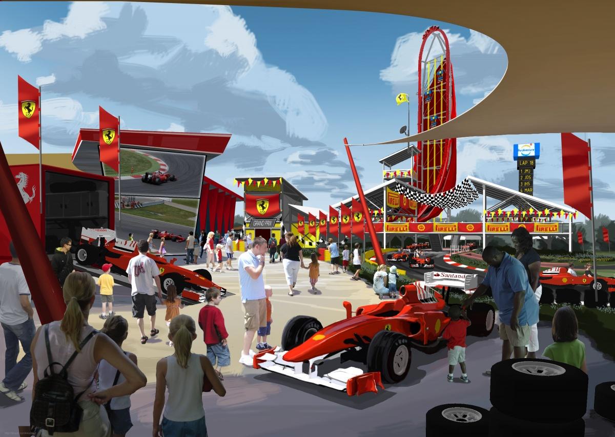 PortAventura tendrá un parque y un hotel de Ferrari en 2016