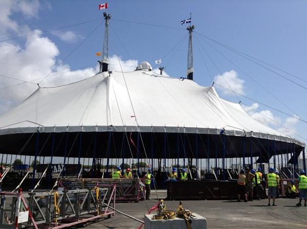 La carpa de Cirque du Soleil Kooza llega a PortAventura