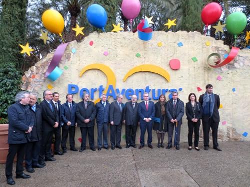Inauguración oficial de la temporada 2015 de PortAventura