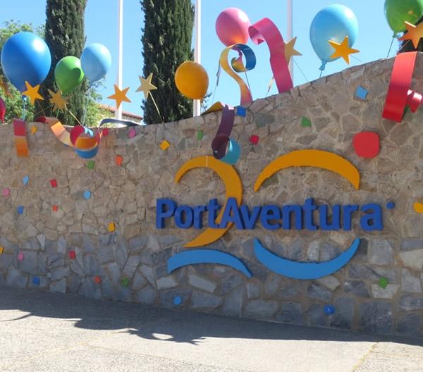 Así se celebró el 20 aniversario de PortAventura