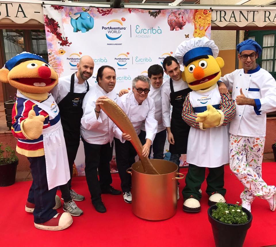 PortAventura y el pastelero Escribà firman un acuerdo para tres años