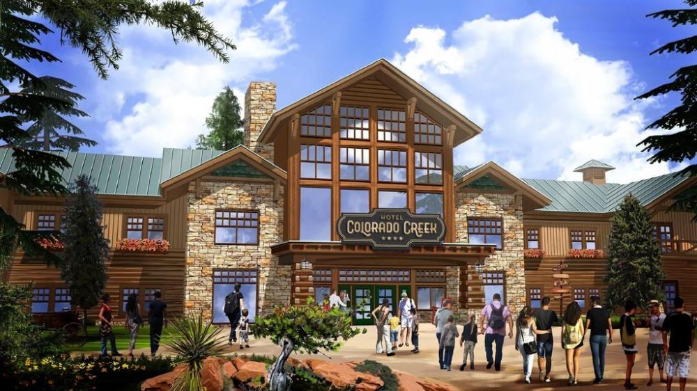 Así será el nuevo Hotel Colorado Creek