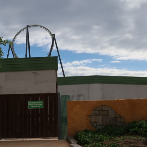 Construcción dark ride