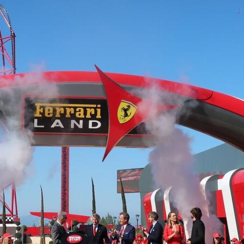 Gran inauguración de Ferrari Land