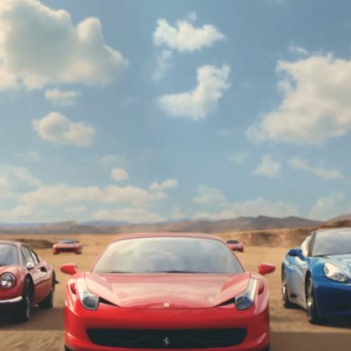 Spot Ferrari Land
