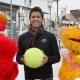 Fernando Verdasco 'juega' en Port Aventura