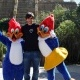 Ricky Rubio inaugura la temporada de PortAventura