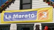 PortAventura celebró el inicio de la Navidad con una jornada a favor de la Marató de TV3.