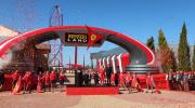 El 6 de abril, Piero Ferrari, hijo del fundador de Ferrari, inauguró el nuevo parque Ferrari Land