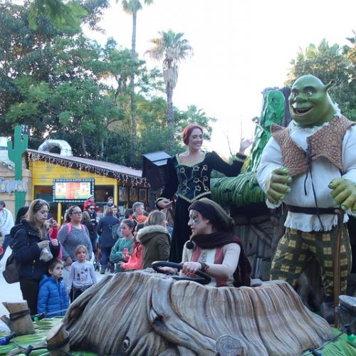 Meet Shrek & Fiona