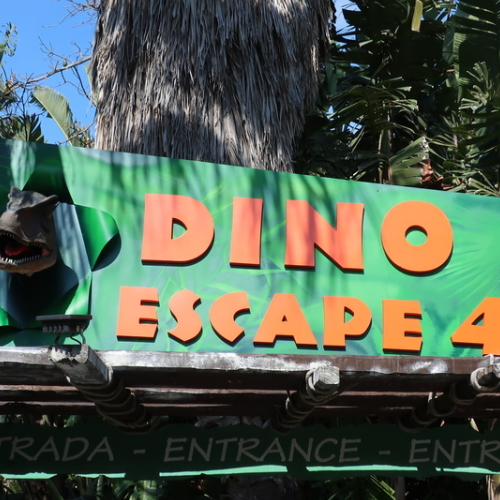 Dino Escape 4D
